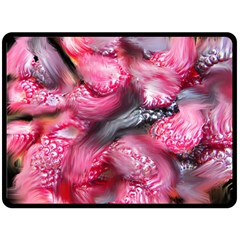 Raspberry Delight Fleece Blanket (Large)