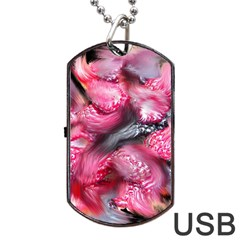 Raspberry Delight Dog Tag USB Flash (Two Sides)