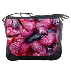Raspberry Delight Messenger Bags