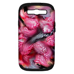 Raspberry Delight Samsung Galaxy S Iii Hardshell Case (pc+silicone)