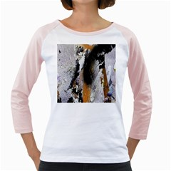 Abstract Graffiti Background Girly Raglans