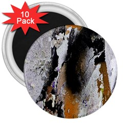 Abstract Graffiti Background 3  Magnets (10 Pack)