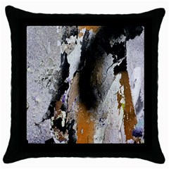Abstract Graffiti Background Throw Pillow Case (Black)
