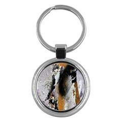 Abstract Graffiti Background Key Chains (round)
