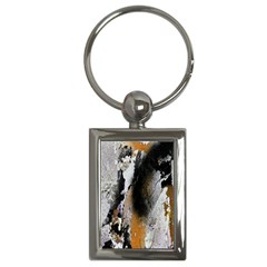 Abstract Graffiti Background Key Chains (Rectangle)