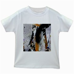 Abstract Graffiti Background Kids White T-Shirts