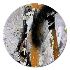 Abstract Graffiti Background Magnet 5  (round)