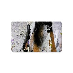 Abstract Graffiti Background Magnet (Name Card)