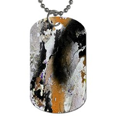 Abstract Graffiti Background Dog Tag (one Side)