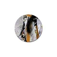 Abstract Graffiti Background Golf Ball Marker