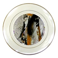 Abstract Graffiti Background Porcelain Plates