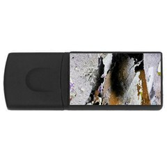 Abstract Graffiti Background USB Flash Drive Rectangular (4 GB)