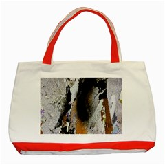 Abstract Graffiti Background Classic Tote Bag (red)