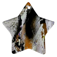 Abstract Graffiti Background Star Ornament (Two Sides)