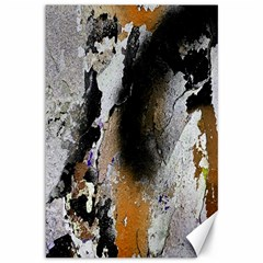 Abstract Graffiti Background Canvas 12  x 18
