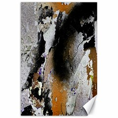 Abstract Graffiti Background Canvas 24  x 36