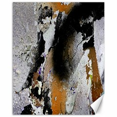 Abstract Graffiti Background Canvas 11  x 14