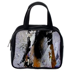 Abstract Graffiti Background Classic Handbags (One Side)
