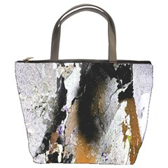 Abstract Graffiti Background Bucket Bags