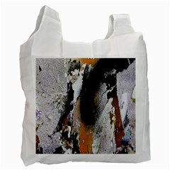 Abstract Graffiti Background Recycle Bag (Two Side)