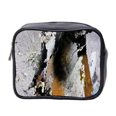 Abstract Graffiti Background Mini Toiletries Bag 2-Side