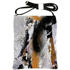 Abstract Graffiti Background Shoulder Sling Bags