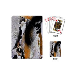 Abstract Graffiti Background Playing Cards (Mini)