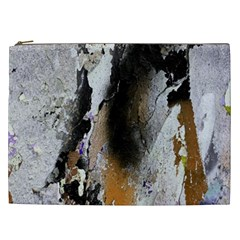 Abstract Graffiti Background Cosmetic Bag (xxl)