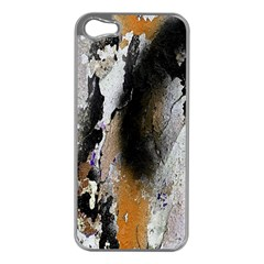 Abstract Graffiti Background Apple iPhone 5 Case (Silver)
