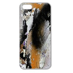 Abstract Graffiti Background Apple Seamless Iphone 5 Case (clear)