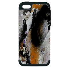 Abstract Graffiti Background Apple iPhone 5 Hardshell Case (PC+Silicone)