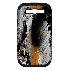 Abstract Graffiti Background Samsung Galaxy S III Hardshell Case (PC+Silicone)