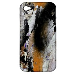 Abstract Graffiti Background Apple Iphone 4/4s Hardshell Case (pc+silicone)
