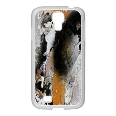 Abstract Graffiti Background Samsung Galaxy S4 I9500/ I9505 Case (white)