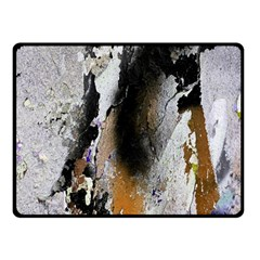 Abstract Graffiti Background Double Sided Fleece Blanket (Small)