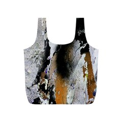 Abstract Graffiti Background Full Print Recycle Bags (s)