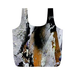 Abstract Graffiti Background Full Print Recycle Bags (M)