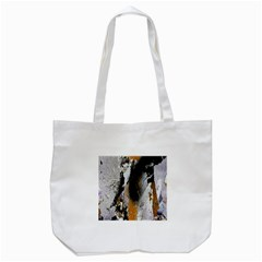 Abstract Graffiti Background Tote Bag (white)