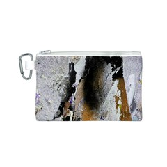 Abstract Graffiti Background Canvas Cosmetic Bag (S)