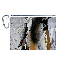 Abstract Graffiti Background Canvas Cosmetic Bag (L)