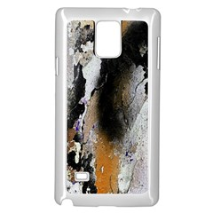 Abstract Graffiti Background Samsung Galaxy Note 4 Case (white)