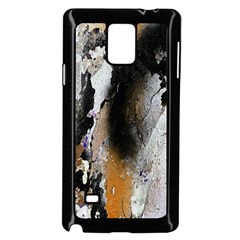 Abstract Graffiti Background Samsung Galaxy Note 4 Case (Black)