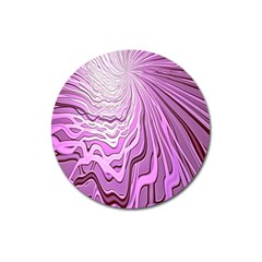 Light Pattern Abstract Background Wallpaper Magnet 3  (Round)