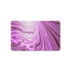 Light Pattern Abstract Background Wallpaper Magnet (name Card)