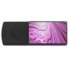 Light Pattern Abstract Background Wallpaper USB Flash Drive Rectangular (1 GB)