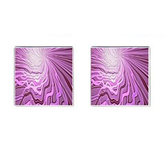 Light Pattern Abstract Background Wallpaper Cufflinks (square)