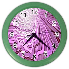 Light Pattern Abstract Background Wallpaper Color Wall Clocks