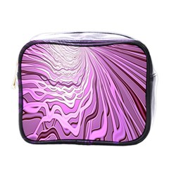 Light Pattern Abstract Background Wallpaper Mini Toiletries Bags