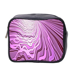 Light Pattern Abstract Background Wallpaper Mini Toiletries Bag 2-Side