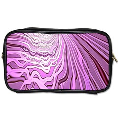 Light Pattern Abstract Background Wallpaper Toiletries Bags 2-Side